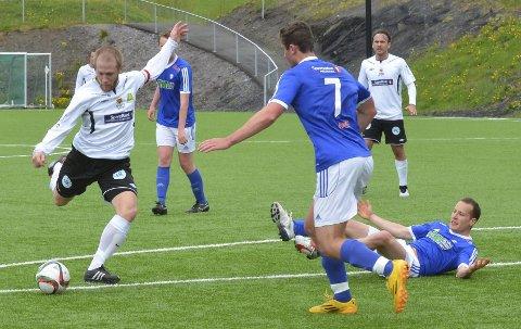 USIKKER: Håvard S. Olsen er usikker på om han fortsetter på Gran. Han spiller ikke den første treningskampen torsdag kveld.