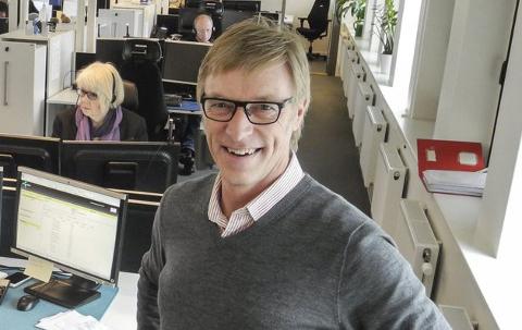 SI FRA: Banksjef Tom Willy Prangerød i Sparebank1 Halden sier du må ta kontakt med banken hvis du ikke klarer å få  tak i passet innen fristen 16. juni. Arkiv.