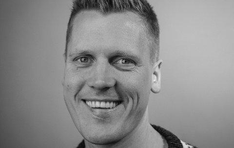 Morten Ulekleiver nyhetsredaktør i Halden Arbeiderblad.
