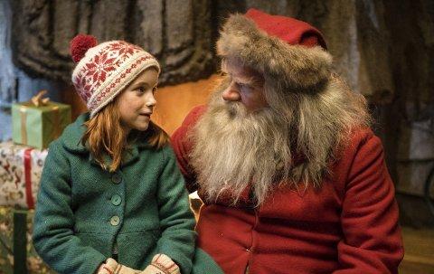 Årets julefilm: Snekker Andersen og Julenissen er inne på topplista til alle dei lokale kinoane.  Foto: Fantefilm/ Nordisk Film