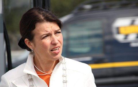 Vil til bergen: Ordfører Liv Kari Eskeland vil at Stord og nabokommunene skal tilhøre Bergen politidistrikt.