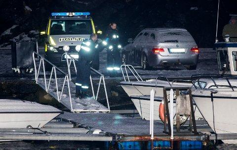 FUNNET I SJØEN: Personen ble funnet i sjøen ved kaianlegget nedenfor Havnaberg.
