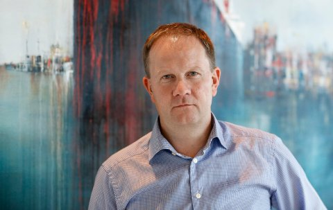 TØFFE TIDER: Administrerende direktør Lars Peder Solstad i Solstad Offshore.