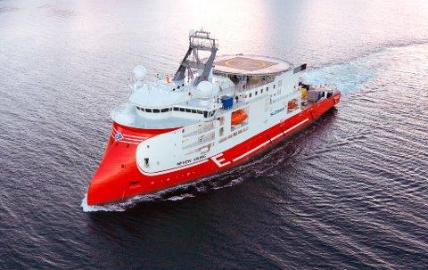 BLIR NY: «Seven Viking» skal bygges om og spare både miljøet og regnskapet.
