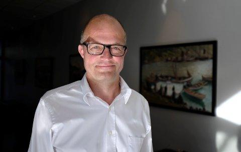 KONSERNSJEF: Karl Petter Løken konserndirektør Kværner as. Foto: Terje Størksen