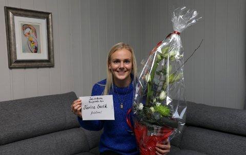 ÅRETS IDRETTSNAVN: Haugesunds Avis mener Karina Sævik har vært distriktets fremste idrettsutøver i 2019.