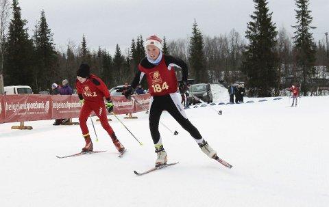 KM på ski Sjåmoen fristil. Arrangør Mosjøen IL Ski. Kretsmester G13 Kristoffer Åkvik, Mosjøen
