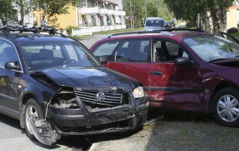 INGEN GRUNN TIL BEKYMRING: Det er ikke flere kollisjoner den trettende enn vanlig på fredag. Det er faktisk 10 prosent færre ulykker generelt.