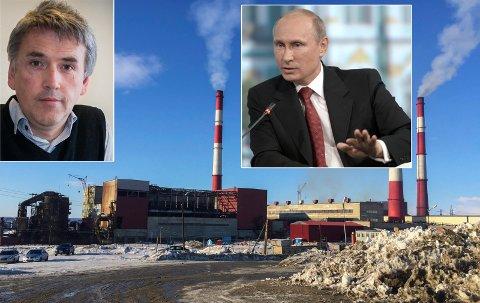 HÅP I HORISONTEN: Selskapet som eier Nikel-verket har kuttet utslipp andre steder, og Putin har bedt om et grønt skifte i Russland. Det gjør Thomas Nilsen litt tryggere på renere luft i grenseområdene.