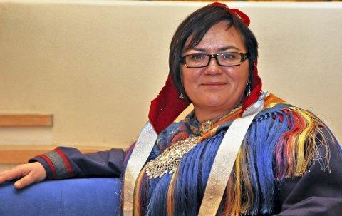 TOK OVER: Mariann Wollmann Magga er den nye direktøren ved Tana og Varanger Museumssiida.