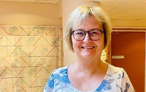 Vaksinekoordinator Lise Voktor.