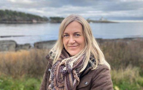 LIVET ER BEST UTE: For Christine Abbott er det natur og friluftsliv som må til for at hun skal koble av.