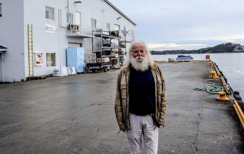 Frieri: Johan Tønnes Løchstøer (V) ønsket at kommunen går i dialog med Ivar Tollefsen og KU om muligheten for å få et kulturhus integrert i planene for utvikling av havnefronten.