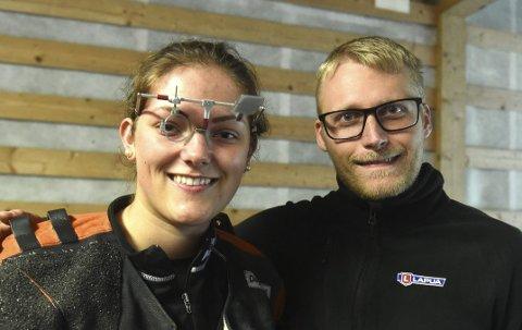 MESTERE: Kim-André Aannestad Lund sikret seg nok en Viken 1-mesterskap mens Jeannette Hegg Duestad, Sem, ble prinsesse.FOTO: OLE JOHN HOSTVEDT