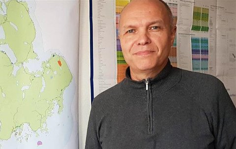 Karl Erik Nystad, enhetsleder for Næring plan og utvikling.