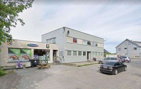 Arctandergården i Gravdal sentrum.