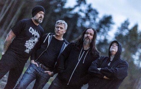 Stilsikkert: Det blir tungt og mørkt når black metalbandet Order inntar Tivolikjeller'n fredag kveld.