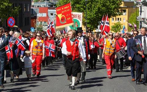 Barnetoget i Moss i  fjor: 2016. Haakon Hattevig er leder av 17. mai-komiteen.