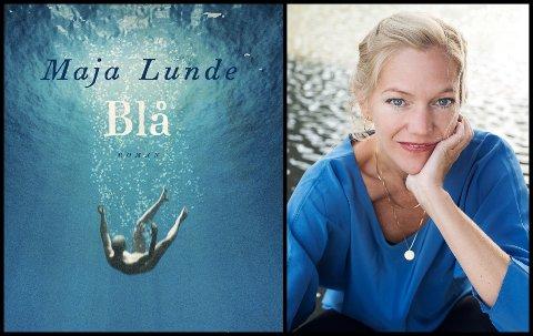 TIL SON: Maja Lunde har høstet gode kritikker for romanen Blå som kom ut i fjor.