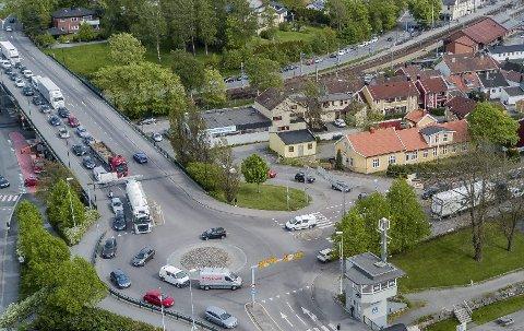 Beroliger: Statens vegvesens Finn Gulbrandsen mener at trafikkbildet i området som er avbildet, ikke vil påvirke negativt i samme grad som fryktet.