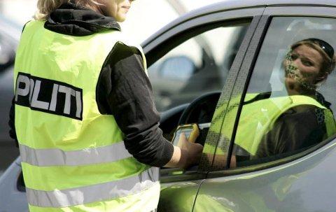 KONTROLL: Denne uken varsler politiet at de vil gjennomføre ekstra kontroller mot ruskjøring.