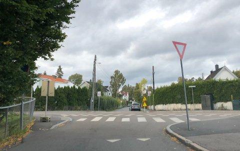 Syklist etterlyses etter et sammenstøt i krysset Nordstrandveien-Munkerudveien.