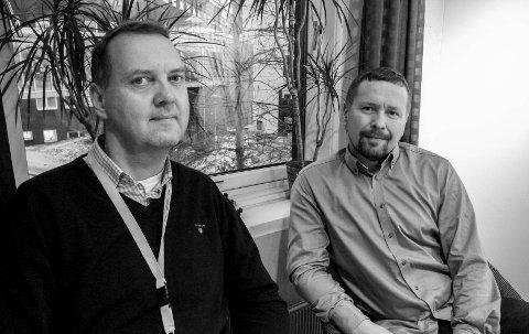 FORSKERTEAM: Professorene Baldur Sveinbjörnsson og Christer Einvik i Tromsø har samarbeidet med forskere ved Karolinska Institutet og Harvard University om å behandle hjernekreft hos barn.