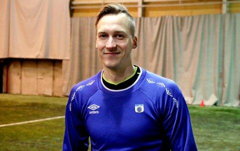 OVERGANG: Det ble med ett år i TUIL-drakten for Thomas Båtnes Braaten, som bytter ut fotballskoene med arbeidspult i samme bransje fra neste uke.