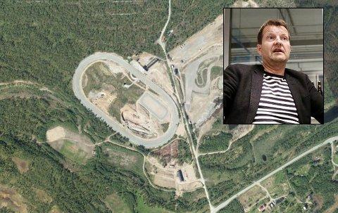 ØNSKES: Harald Bredrup i Mack (innfelt) mener Tromsø trenger en industripark i Ramfjord.
