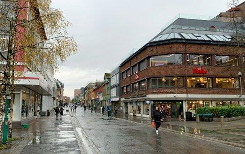 SENTRALT: Her, midt i sentrum, skal Fjordkrafts salgspartnerselskap åpne et nytt kontor før året er omme.
