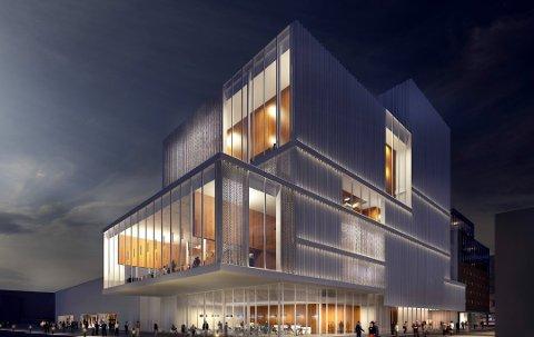 SATSING: Det er over fem år siden Nordnorsk Opera og Symfoniorkesters planer om en storstue i Tromsø ble presentert. Nå får planen støtte fra fylkeskommunen.
