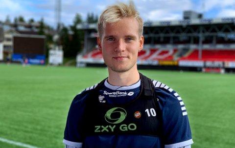 USIKKERHET: Mikael Norø Ingebrigtsen har bare fire måneder igjen av TIL-kontrakten, og har ikke hatt sjansen til å vise i år hvorfor han burde tilbys en ny avtale. Det er per i dag ikke sikkert at klubben kommer til å gjøre det.