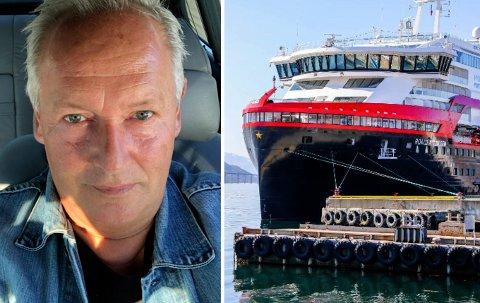 ERFAREN: Tor Jakobsen, mangeårig ansatt i Hurtigruten.