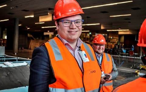 GØVIK ER MED: Vi forventer at arbeidsplasser til vegvesenet sikres og videreføres på Gjøvik og Oppland forøvrig, sier fylkesordfører Even Aleksander Hagen. (arkivbilde).