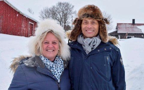 PROTESTER: Reidun og Audun Myskja planer om å etablere Mestringstunet på dette småbruket i Grøtbergsleia ved Lena møtes med kraftige protester i nabolaget.