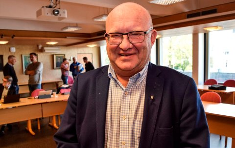 GIR SEG: Terje Odden stiller ikke til gjenvalg som ordfører i Søndre Land.