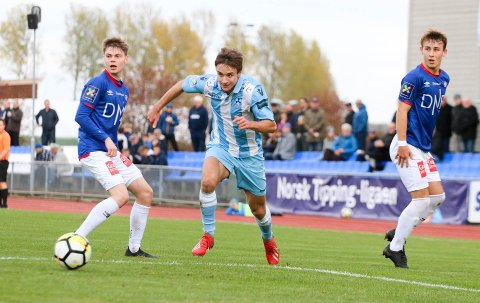 Martin Andre Sjølstad og Follo FK spilte bra mot Vålerenga 2 på Ski stadion lørdag ettermiddag.