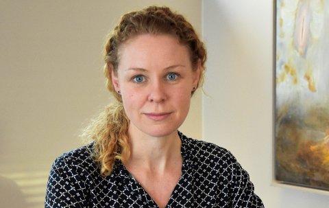 REGISTRER DEG: Konstituert kommuneoverlege Monica Viksaas Biermann ber alle innbyggere over 65 år om å registrere seg for vaksinasjon.