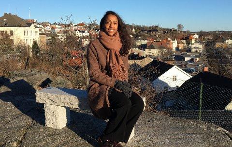 Seks nominasjoner: Farhia Luul Makerow fra Larvik har fått hele seks nominasjoner til årets jentepris i regi av Plan International Norge for sitt engasjement mot kjønnslemlestelse. Om hun vinner blir klart 11. oktober.arkivfoto