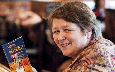 «Hjemme» igjen: Wenche Yamamoto Bondevik har bodd mye lengre i Drammen og andre steder i verden enn hun bodde på Østre Halsen. Men søndag er hun hjemme igjen for å holde utflyttertalen på Tjøllingvollen.