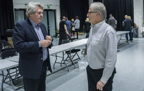 UENIGE: At Hallstein Bast og Tormod Knutsen har hatt sine uenigheter er slett ingen hemmelighet. (arkivfoto)