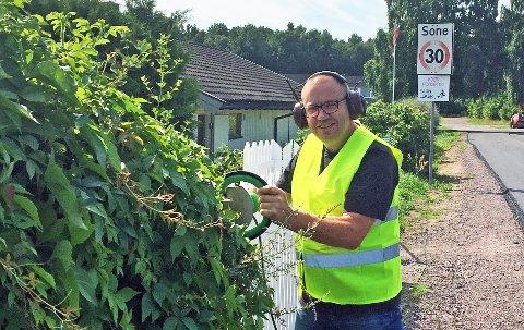 KLIPPER: Gjør som Arve Høiberg – klipp hekken!