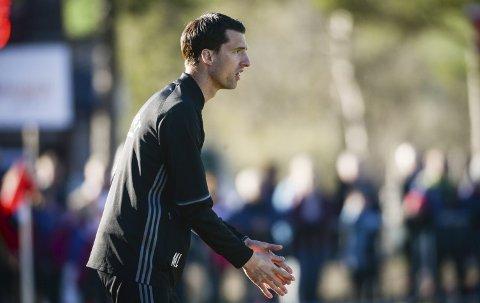 FORNØYD: Tynset-trener Mats Lund er strålende fornøyd med avdelingsoppsettet.