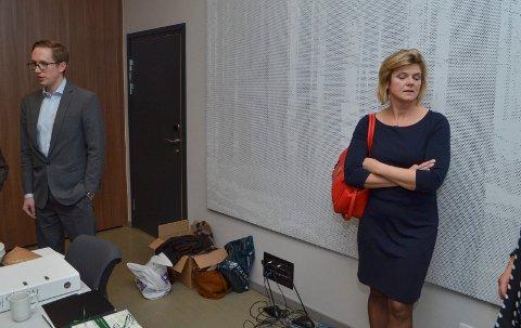 KLOKT: Lise Berger Svenkerud, leder i Innlandet Høyre mener det er klokt at Kristian Tonning Riise sa nei til gjenvalg på Stortinget allerede nå.
