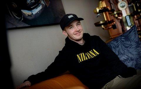 TRIVES:  - Jeg ser framover nå. Endelig stemmer utsiden med innsiden, smiler Daniel Nordengen (23) fra Elverum.