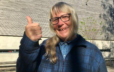 PERSONLIG: Karin Hjelseth traff en kar i 1975 som har betydning for hvilket parti hun stemmer i dag.