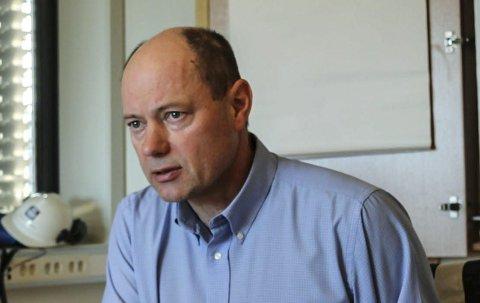 Yaras sjef i Porsgrunn, Per Knudsen.