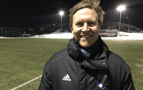 DEBUTERER: Stathelle-trener Truls Wallestad debuterer i Helterennet.