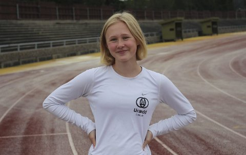 SKADEFORFULGT: Guro Røyneland sleit med kneproblemer før sesongen. Nå trener hun hardt for å spisse formen mot UM.
