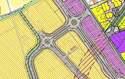 KRAV: Ny veiløsning er rekkefølgekrav for utvikling av næring og bolig ved Enger og Valleråsen.